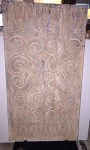 "CC1011-37, Wood Toraja Panel w/ Stand, 17 ½""x 34 ½"" OAH, Pricing & Availability Upon Request"