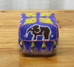 CC1011-26, Small Beaded Basket,  Pricing & Availability Upon Request