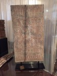 "CC1011-37, Tana Toraja House Panel w/ Stand, 17""x 35 1/2"" OAH, Pricing & Availability Upon Request"