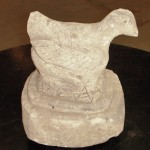 "CC1011-43, Carved Stone Bird, 8 ½"" x 7"" x 12"", Pricing & Availability Upon Request"