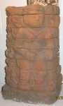 "CC1011-60, Terra Cotta Panel, 13 1/2""x 9""x 21 1/4""H,  Pricing & Availability Upon Request"