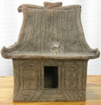 "CC1011-78, Small Terra Cotta House, 12 1/2""x 7""x 13 1/4""H,  Pricing & Availability Upon Request"