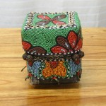 CC1011-88, Small Beaded Basket,  Pricing & Availability Upon Request