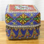 CC1011-89, Beaded Box,  Pricing & Availability Upon Request