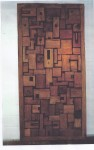 "CC1011-94 Wood Art Panel w/ Space, 48""x96"", Price & Availability Upon Request"