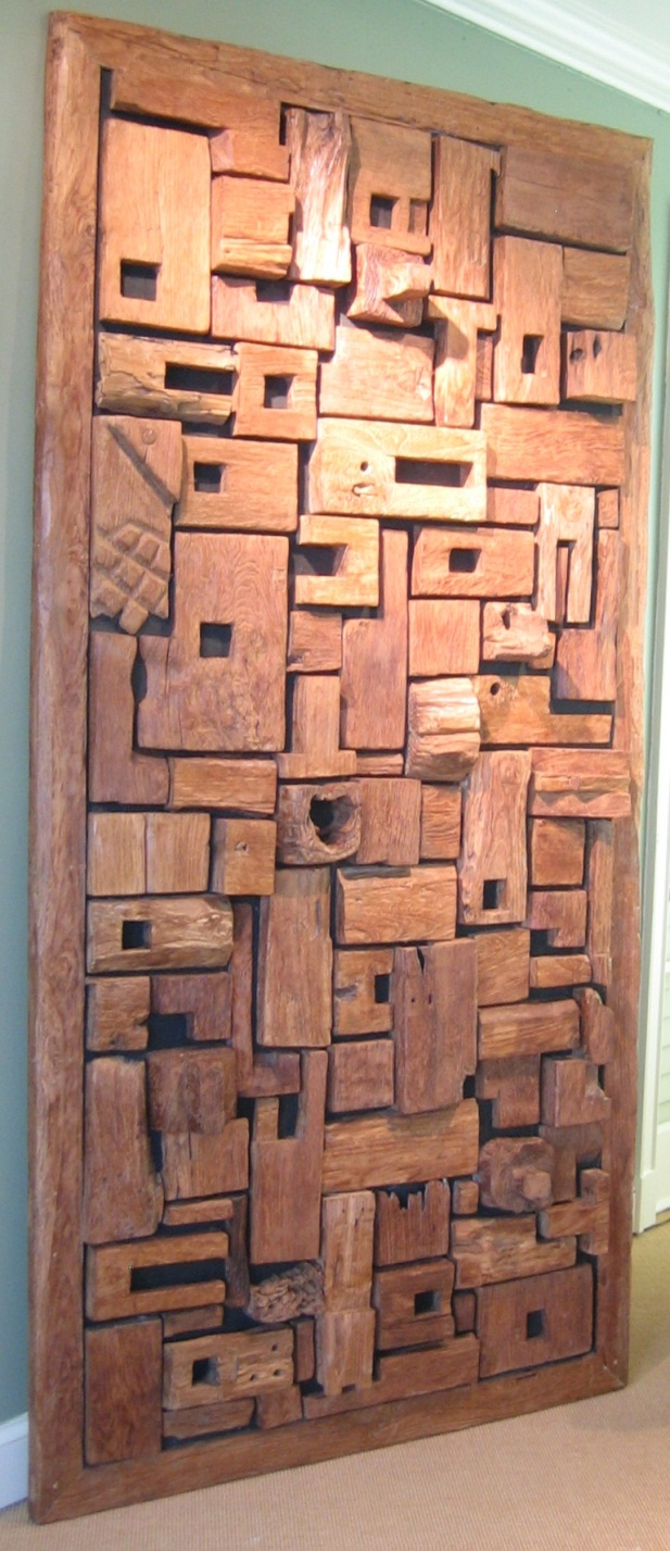 CC1011-94, Wood Art Panel-With Space, Pricing & Availability Upon Request - Wall Panels @ Chip And Company, LLC