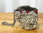 CC312-83-B, Shell & Bead Purse,  Pricing & Availability Upon Request
