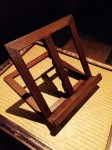 "CC813-44, Teak Book Stand, 11 1/2"" x 12""H, Pricing & Availability Upon Request"