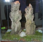 CC912-6, Stone Balinese Figures-Muses,  Pricing & Availability Upon Request