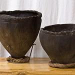 Water Buffalo Hide Vessels
