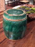 "CC912-59, Old Thai Glazed Vessel w/ Lid, 12""x 13""H, Pricing & Availability Upon Request"