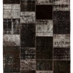 "CC2588, Antique Turkish Rug-Patchwork Design, 6' 7 1/2""x 9' 10"", Pricing & Availability Upon Request"