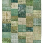 "CC2585, Antique Turkish Rug-Patchwork Design, 8' 3""x 9' 10"", Pricing & Availability Upon Request"