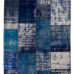 """CC2581, Antique Turkish Rug-Patchwork Design, 5' 8""""x 7' 9"""", Pricing & Availability Upon Request"""