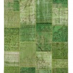 "CC2582, Antique Turkish Rug-Patchwork Design, 6' 7"" x 7' 10"", Pricing & Availability Upon Request"