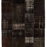 """CC2578, Antique Turkish Rug-Patchwork Design, 5' 10 1/2"""" x 7' 11"""", Pricing & Availability Upon Request"""