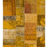 CC2573, Antique Turkish Rug-Patchwork Design, 6' x 8', Pricing & Availability Upon Request