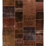"CC2579, Antique Turkish Rug-Patchwork Design, 6' x 7' 11"", Pricing & Availability Upon Request"