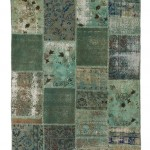 "CC2558, Antique Turkish Rug-Patchwork Design, 4'10""x6'8"", Pricing & Availability Upon Request"