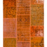 "CC2564, Antique Turkish Rug-Patchwork Design, 4' 1""x 6' 3"", Pricing & Availability Upon Request"