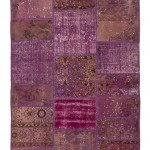 "CC2559, Antique Turkish Rug-Patchwork Design, 4' 11""x 6', Pricing & Availability Upon Request"
