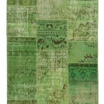 """CC2557, Antique Turkish Rug-Patchwork Design, 4' 1""""x 6', Pricing & Availability Upon Request"""