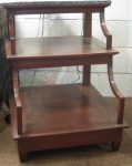 "CC1011-127, Teak Step Table, 24"" x 26 ½"" x 30 ½"", Pricing & Availability Upon Request"