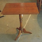 "CC1011-62 B, Indonesian Pedestal Table, 23 1/2""x 15 1/2""x 29 1/2"", Pricing & Availability Upon Request"
