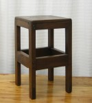 "CC312-106, Small Teak Stool, 10""x 10""x 17""H,  Pricing & Availability Upon Request"