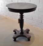 "CC312-117, Teak Pedestal Table, 25 1/2"" Diameter x 29 1/2""H,  Pricing & Availability Upon Request"