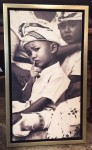 "CC312-3, Photo-Boy In Thought w/ Finger, Framed, 12 ¼""x 2 ½""x 20 ¾"", Pricing & Availability Upon Request"