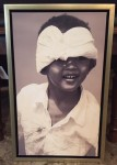 "CC312-5, Photo-Boy w/ Scarf, Framed, 12 ½""x 2 ½""x 20"", Pricing & Availability Upon Request"