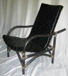 CC312-75, Borneo Chair, Black,  Pricing & Availability Upon Request