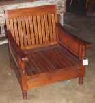 "CC813-10, Teak Club Chair Frame,  30"" W x 27 ½"" D x 32"" H Seat depth 25 ½"" Arm height 21"" Seat frame height 10"", Pricing & Availability Upon Request"