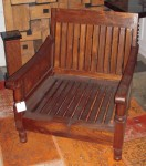 "CC813-10, Teak Club Chair Frame, 30"" W x 27 ½"" D x 32"" H Seat depth 25 ½"" seat height 10"" Arm height 21"", Pricing & Availability Upon Request"