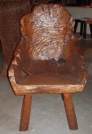 "CC813-9, Teak Root Chair, 26"" x 29"" x 40 ½"" seat height 17 ½"", Pricing & Availability Upon Request"