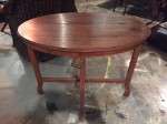 "CC912-21, Small Colonial Teak Oval Table, 36"" x 24"" x 29 ½"" High, Pricing & Availability Upon Request"