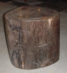 """CC912-35, PETRIFIED WOOD-WP BLACK & SLATE, 13 ½"""" x 13"""" x 13 ¾"""" high, Pricing & Availability Upon Request"""