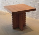 "CC912-45, Zigzag End Table, 24""x 24""x 22 1/4""H,  Pricing & Availability Upon Request"