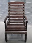 CC912-76, Teak Wheel Deck Chair,  Pricing & Availability Upon Request
