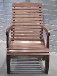CC912-77, Teak Wheel Deck Chair,  Pricing & Availability Upon Request